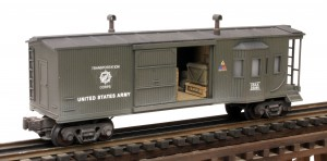 CAB10USA_Combo BW Caboose-Freight Car w:Ammo Crates & Supplies~2, Side B_0806 copy