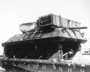 Flat Car Loads_M10 TD(Signal Corps Photo)