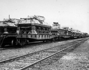 Flat Car Loads_M10 TD~2(Signal Corps Photo)