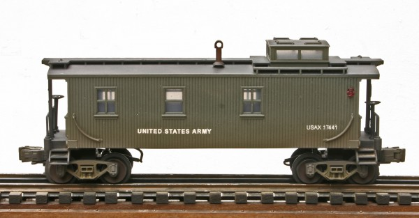 US Army Wood-Sided Caboose USAX 17447(CAB12USA)