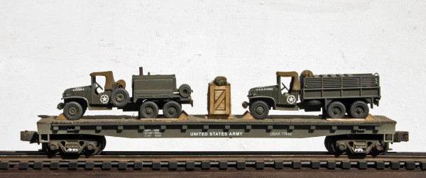 US Army GMC 6X6 Trucks w/Gerry Cans & Leroi Compressor Truck USAX 17458(MV1DF-FC6.2USA)