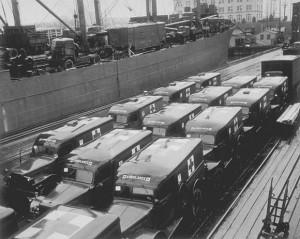 WC54 Dodge Ambululance, Pier 2, Hampton Roads