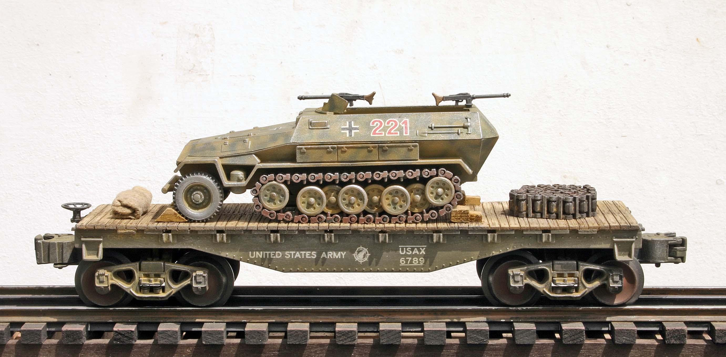 Us Army Captured Wwii German Sd Kfz251 Half Track No 221