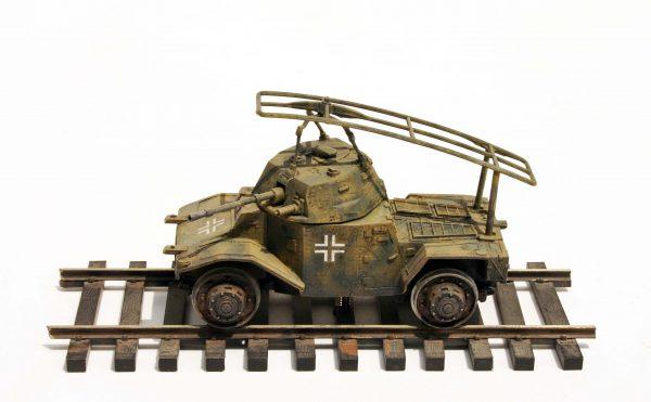 WWII German Panhard AMD178-Rail Version(DRAV.18GER)